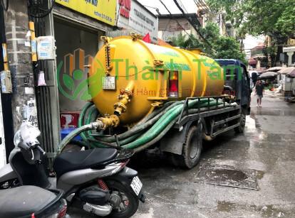 dịch vụ hút hầm cầu tại Bình Tân