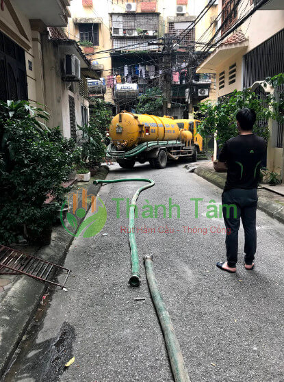 dịch vụ hút hầm cầu quận 3