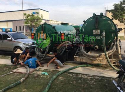 dịch vụ rút hầm cầu quận Tân Phú