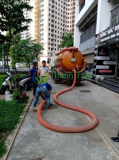 dịch vụ rút hầm cầu quận Bình Thạnh